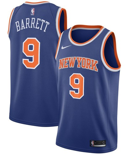 cfb3 camisetas R.J. Barrett, New York Knicks - Icon