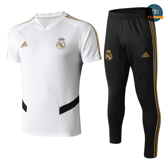 cfb3 Camisetas Real Madrid POLO Entrenamiento Blanco 2019/20