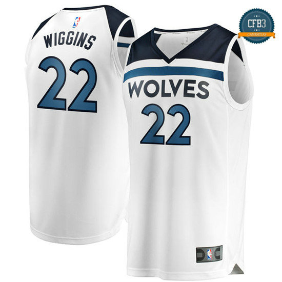 cfb3 camisetas Andrew Wiggins, Minnesota Timberwolves - Association