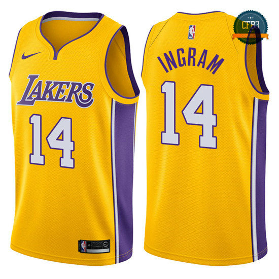 cfb3 camisetas Brandon Ingram, Los Angeles Lakers - Icon
