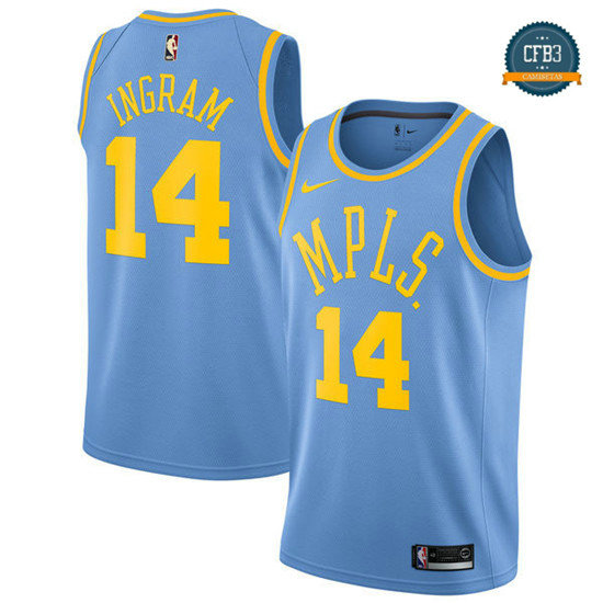cfb3 camisetas Brandon Ingram, Los Angeles Lakers - MLPS