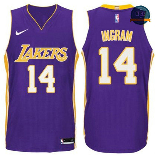 cfb3 camisetas Brandon Ingram, Los Angeles Lakers - Statement