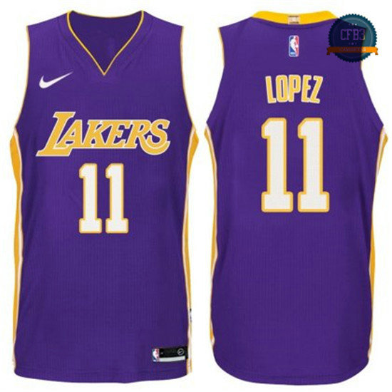 cfb3 camisetas Brook Lopez, Los Angeles Lakers - Statement