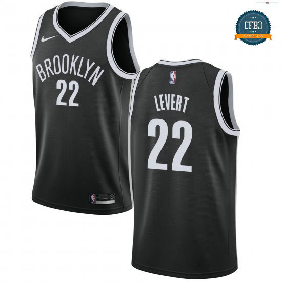 cfb3 camisetas Caris LeVert, Brooklyn Nets 2018/19 - Icon