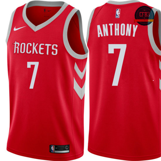 cfb3 camisetas Carmelo Anthony, Houston Rockets - Icon