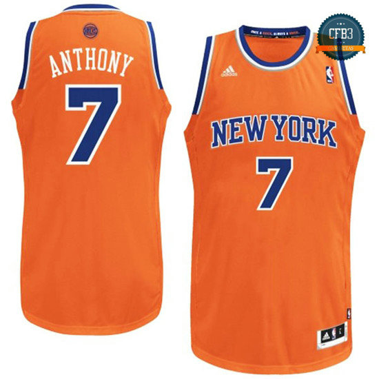 cfb3 camisetas Carmelo Anthony, New York Knicks [Alternate]