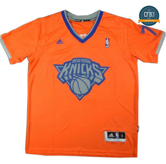 cfb3 camisetas Carmelo Anthony, New York Knicks - Christmas