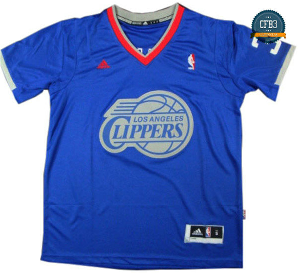 cfb3 camisetas Chris Paul, Los Angeles Clippers - Christmas