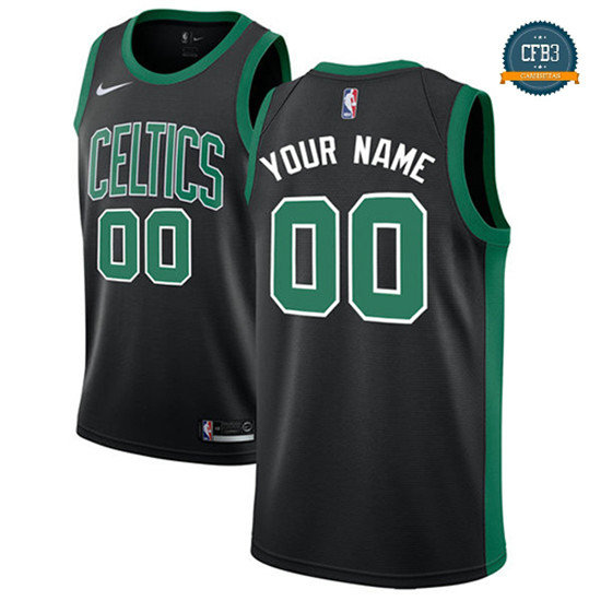 cfb3 camisetas Custom, Boston Celtics - Statement