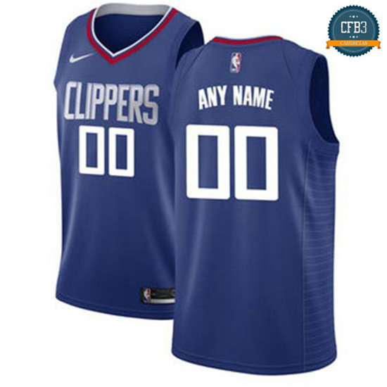 cfb3 camisetas Custom, Los Angeles Clippers - Icon