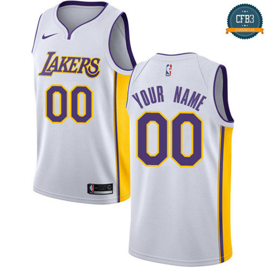cfb3 camisetas Custom, Los Angeles Lakers - Association
