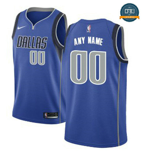 cfb3 camisetas Custom, Mavericks Dallas - Icon