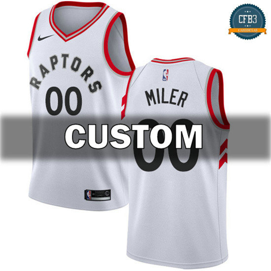cfb3 camisetas Custom, Toronto Raptors - Association