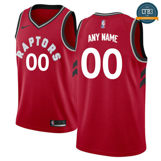 cfb3 camisetas Custom, Toronto Raptors - Icon
