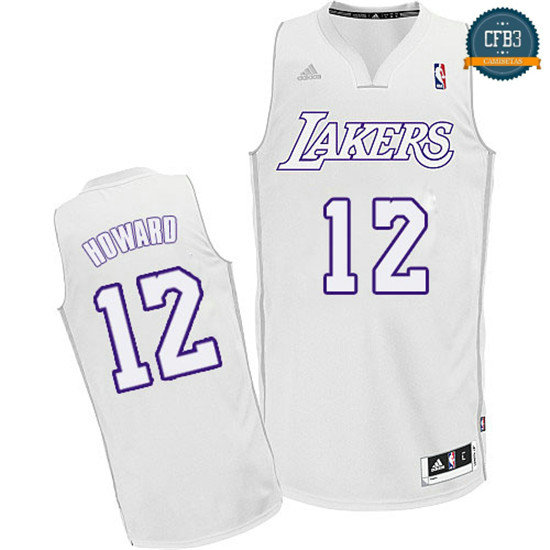 cfb3 camisetas Dwight Howard, Los Angeles Lakers [Big Color Fashion]