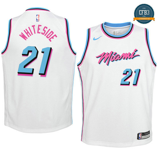 cfb3 camisetas Hassan Blancoside, Miami Heat - City Edition