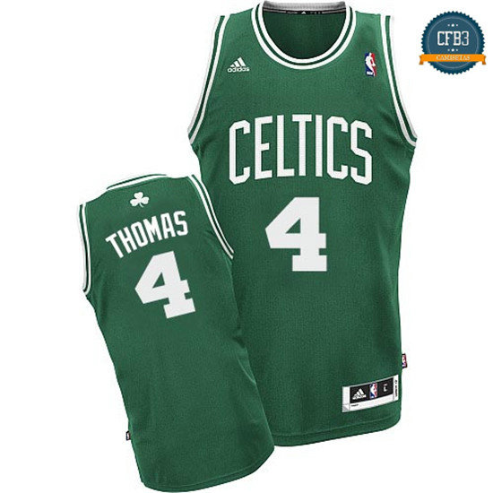 cfb3 camisetas Isaiah Thomas, Boston Celtics [Green]