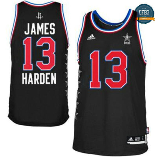 cfb3 camisetas James Harden, All-Star 2015