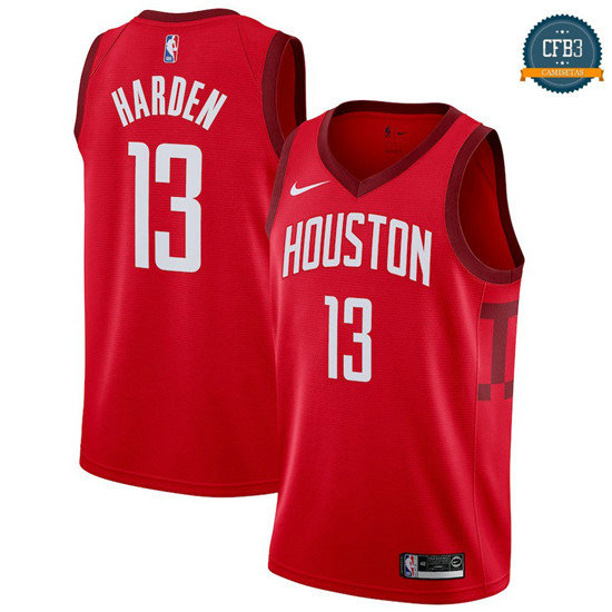 cfb3 camisetas James Harden, Houston Rockets 2018/19 - Earned Edition