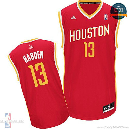 cfb3 camisetas James Harden, Houston Rockets [Alternate]