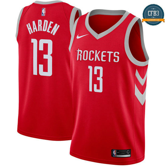 cfb3 camisetas James Harden, Houston Rockets - Icon