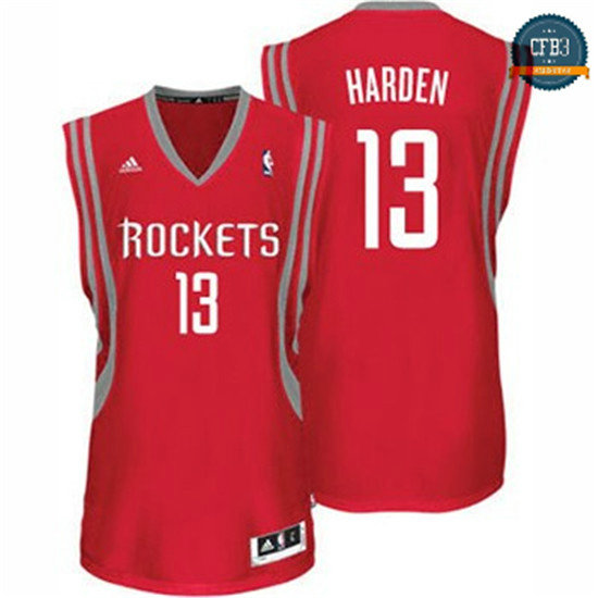 cfb3 camisetas James Harden, Houston Rockets [Road]