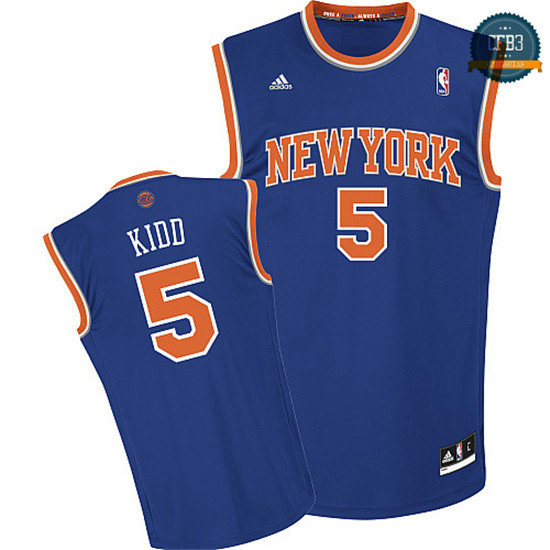 cfb3 camisetas Jason Kidd, New York Knicks [Azul]