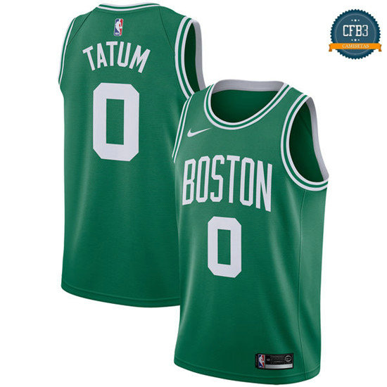 cfb3 camisetas Jayson Tatum, Boston Celtics - Icon