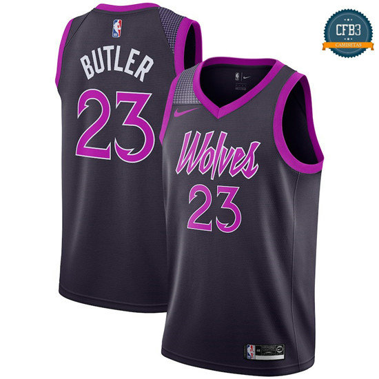 cfb3 camisetas Jimmy Butler, Minnesota Timberwolves 2018/19 - City Edition