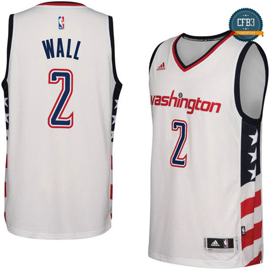 cfb3 camisetas John Wall, Washington Wizards - Alternate