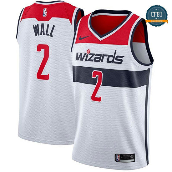 cfb3 camisetas John Wall, Washington Wizards - Association