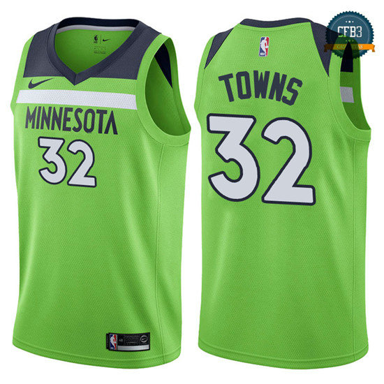 cfb3 camisetas Karl-Anthony Towns, Minnesota Timberwolves - Statement