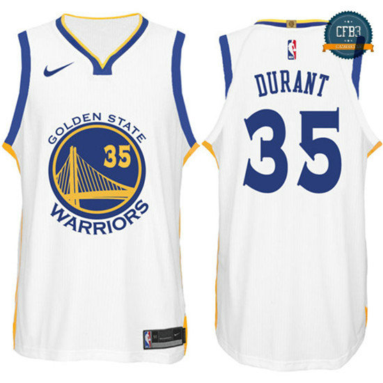cfb3 camisetas Kevin Durant, Golden State Warriors - Association