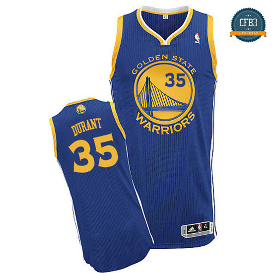 cfb3 camisetas Kevin Durant, Golden State Warriors [Road]