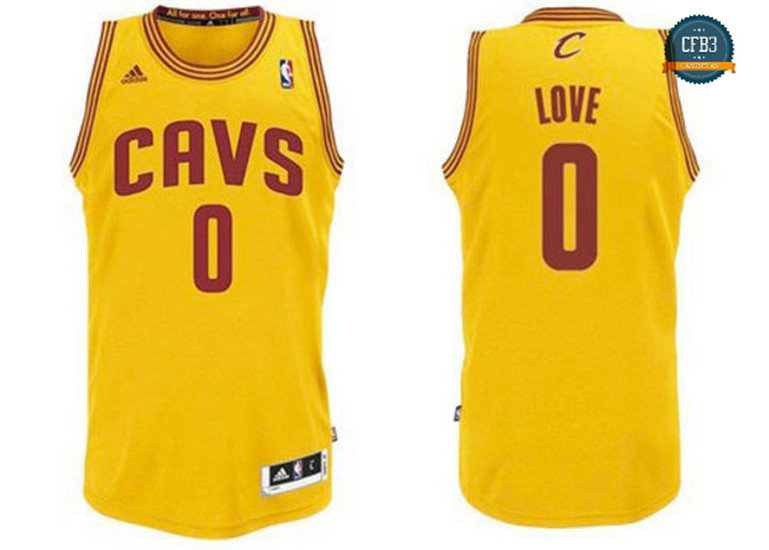 cfb3 camisetas Kevin Love, Cleveland Cavaliers - Alternate
