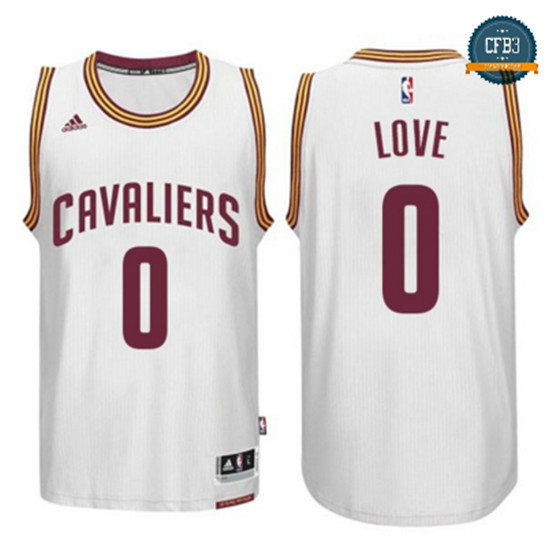 cfb3 camisetas Kevin Love, Cleveland Cavaliers - Blanco