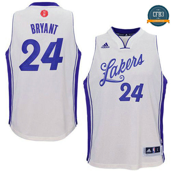cfb3 camisetas Kobe Bryant, L.A. Lakers - Christmas Day 15-16