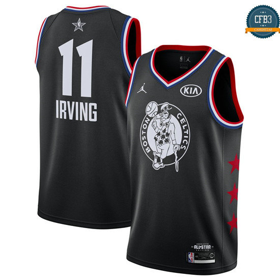 cfb3 camisetas Kyrie Irving - 2019 All-Star Negro