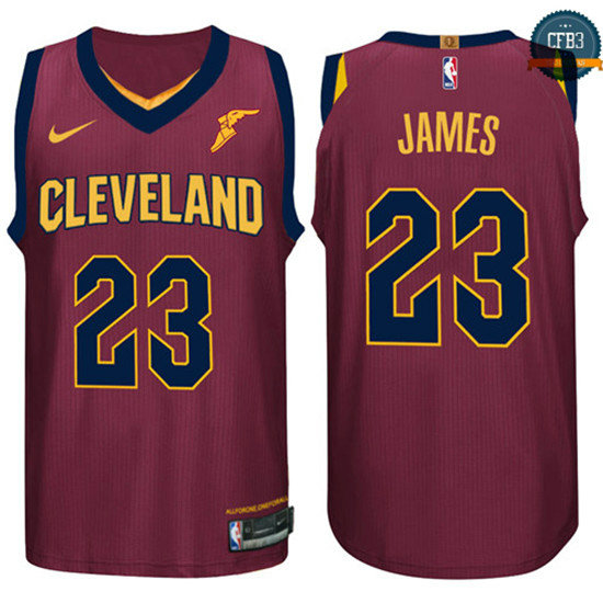 cfb3 camisetas LeBron James, Cleveland Cavaliers - Icon