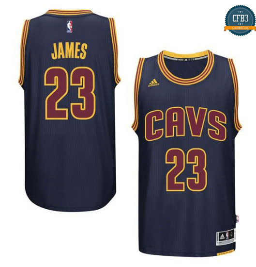 cfb3 camisetas LeBron James, Cleveland Cavaliers - Navy