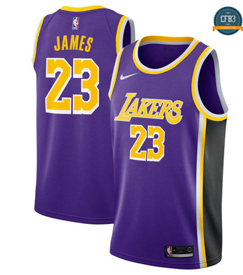 cfb3 camisetas LeBron James, Los Angeles Lakers 2018/19 - Statement