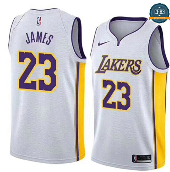cfb3 camisetas LeBron James, Los Angeles Lakers - Association