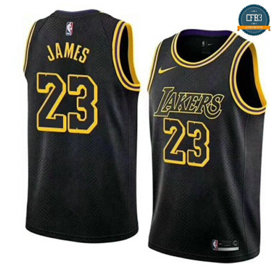 cfb3 camisetas LeBron James, Los Angeles Lakers - City Edition