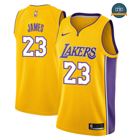 cfb3 camisetas LeBron James, Los Angeles Lakers - Icon