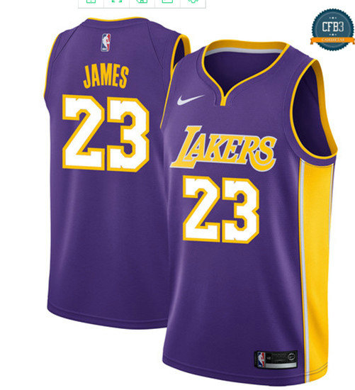 cfb3 camisetas LeBron James, Los Angeles Lakers - Statement
