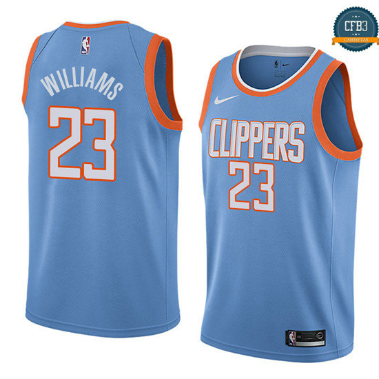 cfb3 camisetas Lou Williams, Los Angeles Clippers - City Edition
