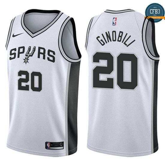 cfb3 camisetas Manu Ginobili, San Antonio Spurs - Association