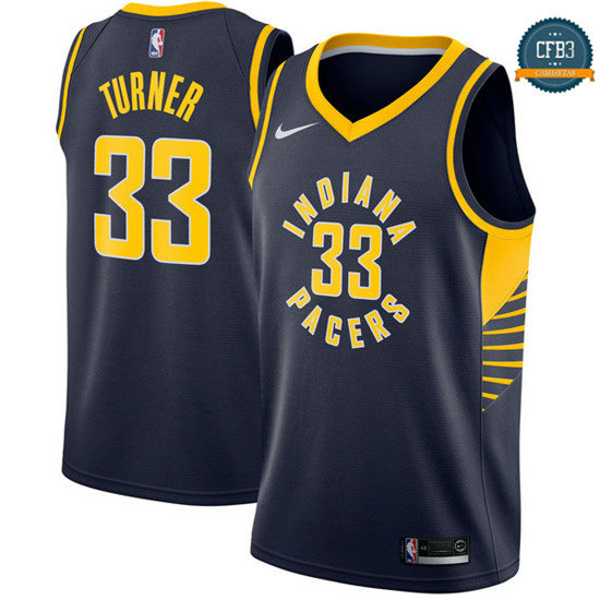 cfb3 camisetas Myles Turner, Indiana Pacers - Icon
