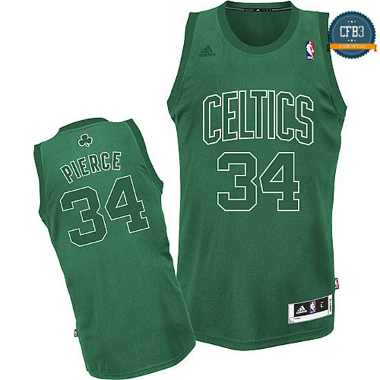 cfb3 camisetas Paul Pierce, Boston Celtics [Big Color Fashion]
