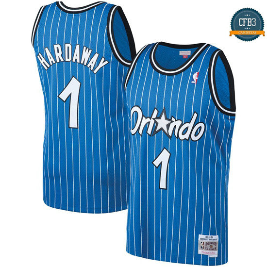 cfb3 camisetas Penny Hardaway, Orlando Magic